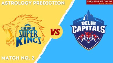CSK vs DC Match Astrology Prediction