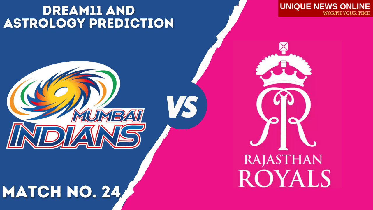 MI vs RR Match Dream11 and Astrology Prediction, Head to Head, Dream11 Top Picks and Tips, Captain & Vice-Captain, and who will win Mumbai Indians or Rajasthan Royals? #MIvRR