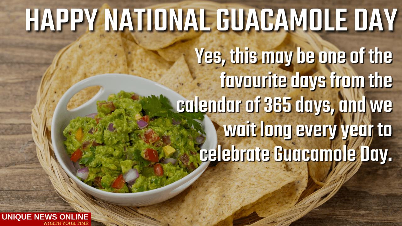 राष्ट्रीय Guacamole दिवस 2021 HD प्रतिमा, Memes, GIF, मजेदार कोट्स आणि संदेश सामायिक करण्यासाठी