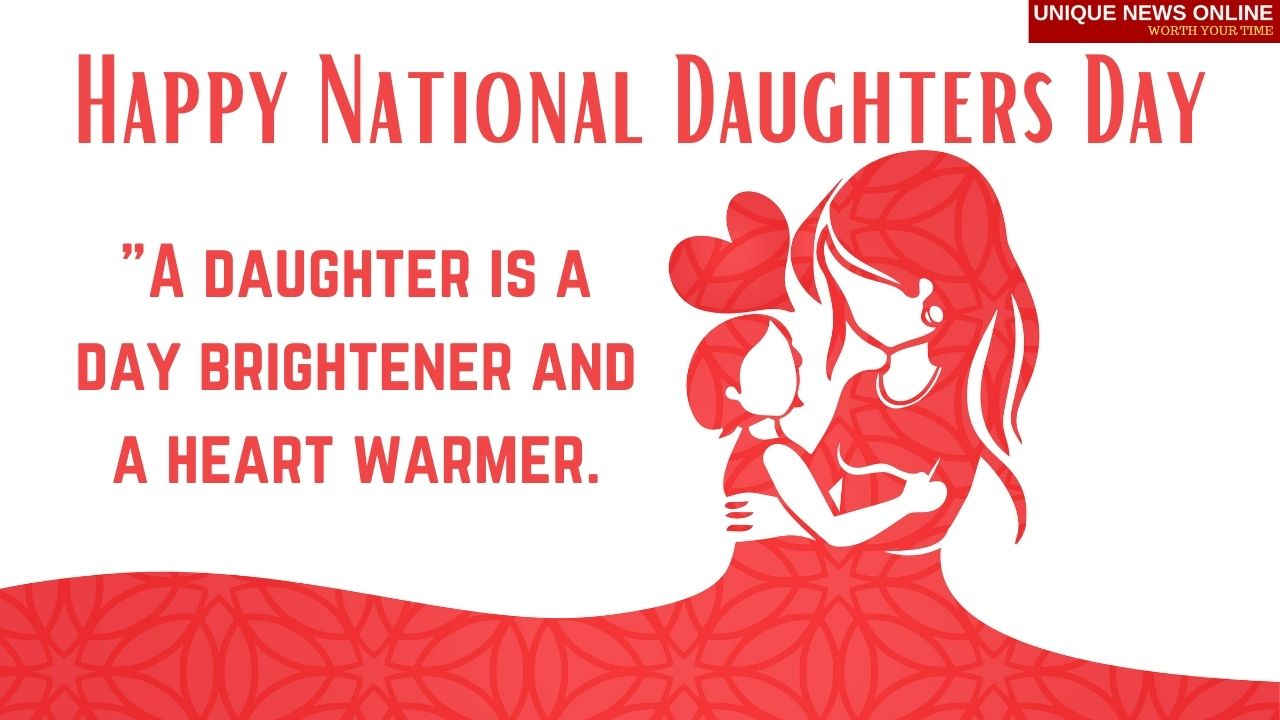 National Daughters Day (US) 2021: Quotes, Wishes, Images, Messages, and Greetings to share
