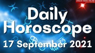 Daily Horoscope: 17 September 2021, Check astrological prediction for Aries, Leo, Cancer, Libra, Scorpio, Virgo, and other Zodiac Signs #DailyHoroscope
