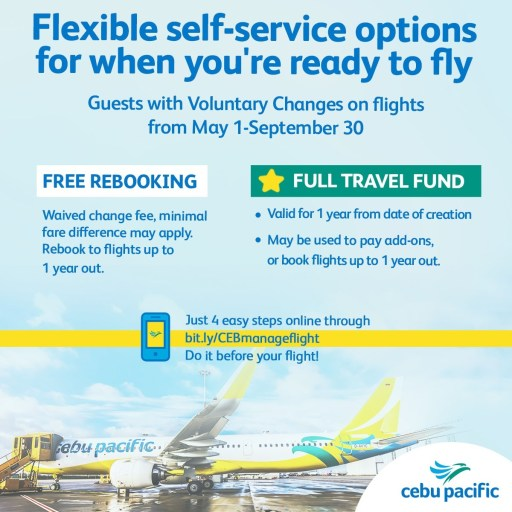 Free flexible rebooking and cancellation for airlines and hotels