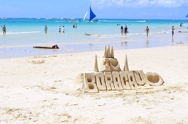 Boracay Island, Philippines is the 2nd highest for the top places to visit after COVID-19