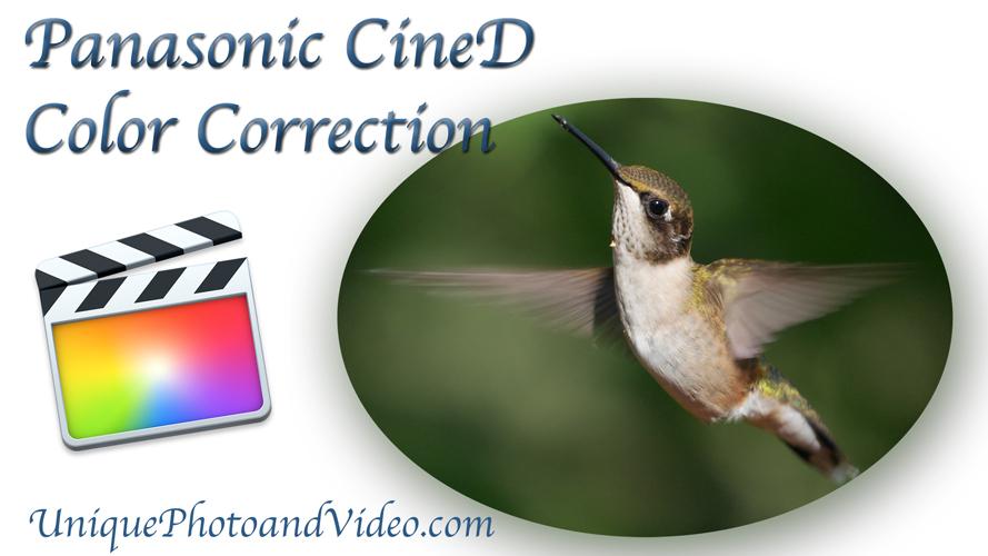 Panasonic G7 CineD 4K UHD Color Correction Test Video