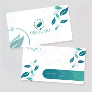 Roseunique Logo and business cards