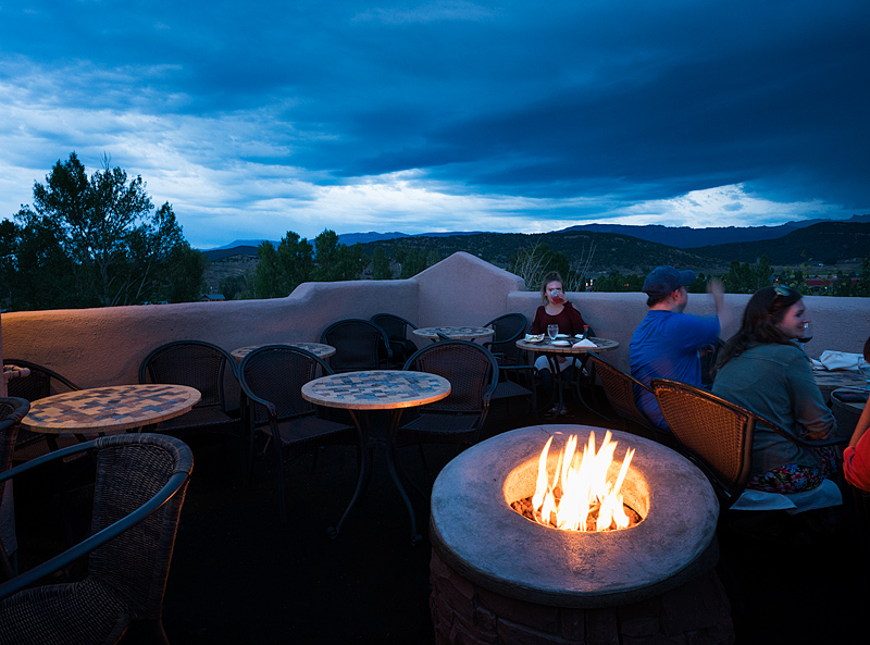Chipeta Solar Springs Resort, Sky Bar, Ridgway, Colorado
