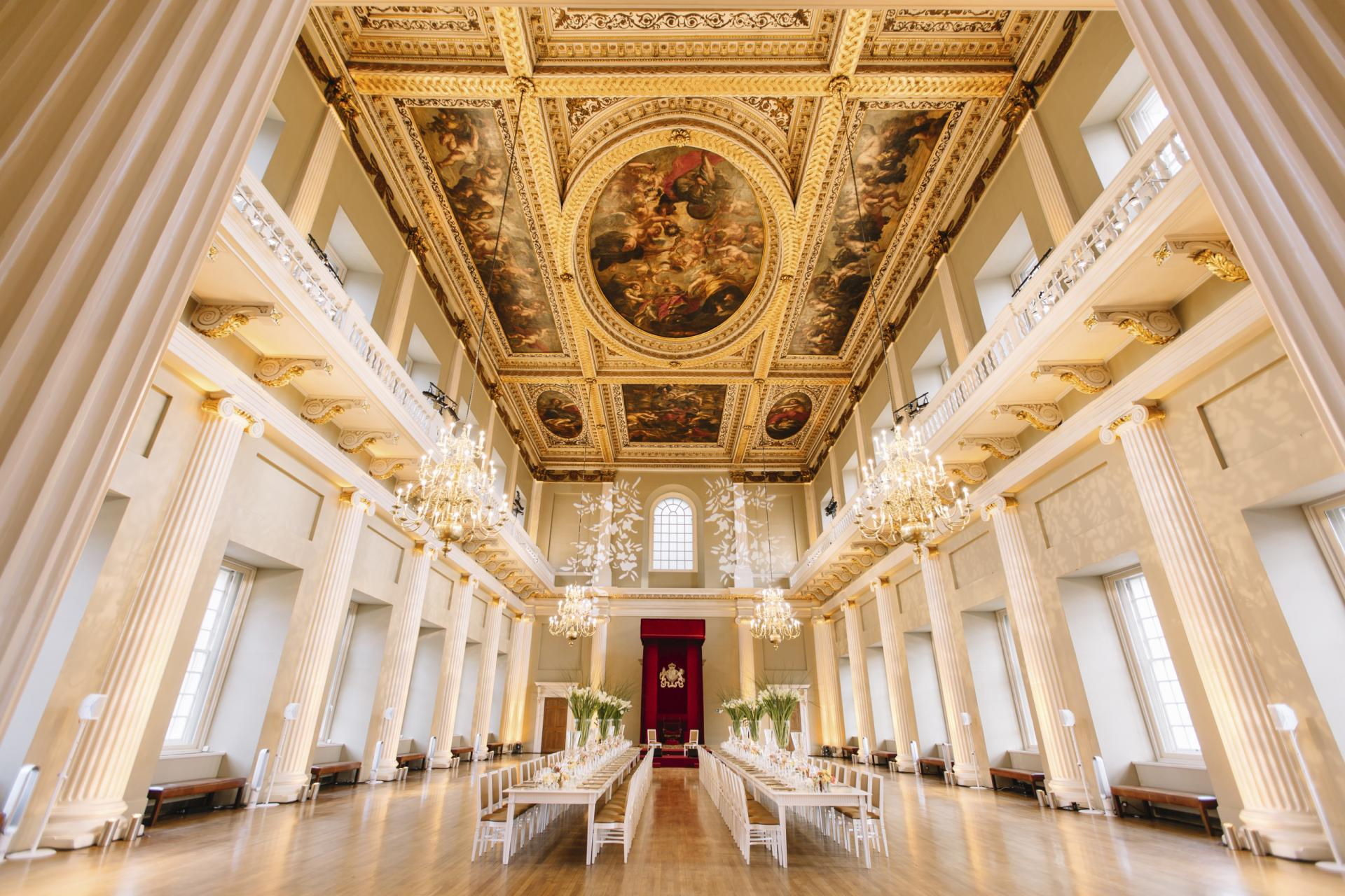 Banqueting House Venue Hire London Unique Venues Of London