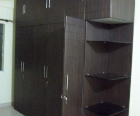 Membrane finished wardrobe
