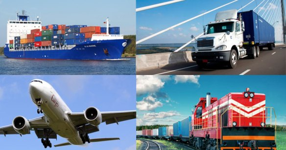 Cargo Shipping Container from USA to India by Air and Sea Transportation