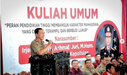 unisbank seamrang gubernur akpol polisi akademi polisi