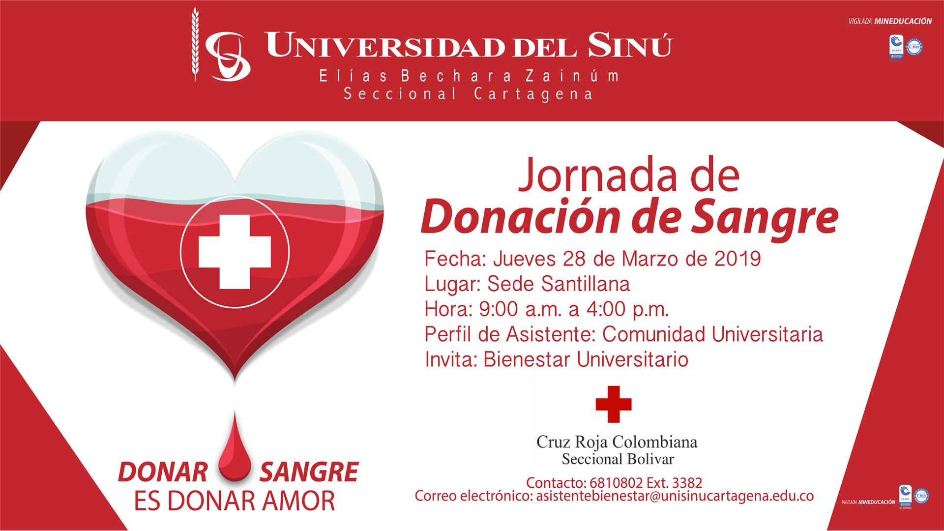 JORNADA DONACION DE SANGRE