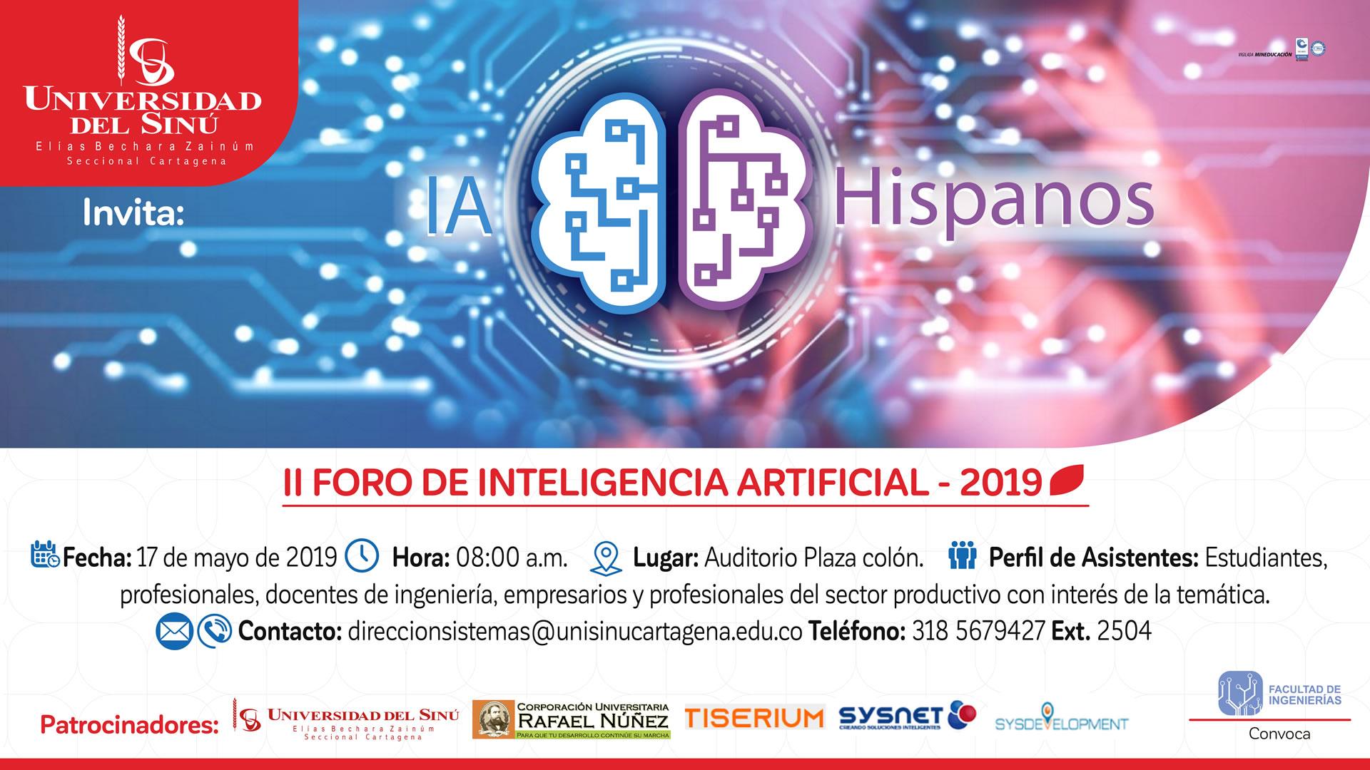 II Foro de Inteligencia Artificial Hispanos-edicion-100