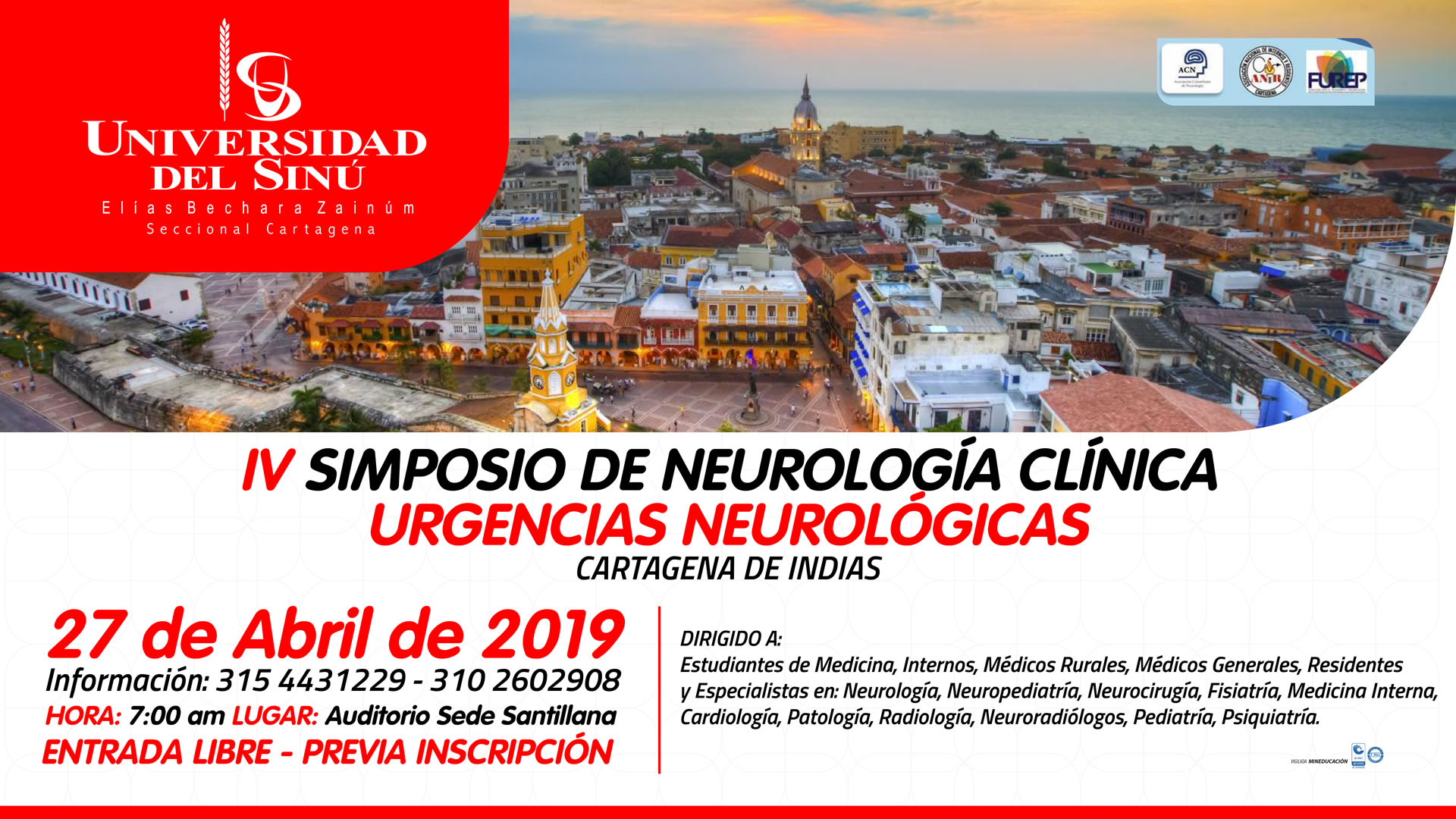 IV SIMPOSIO DE NEUROLOGIA CLINICA_Mesa de trabajo 2