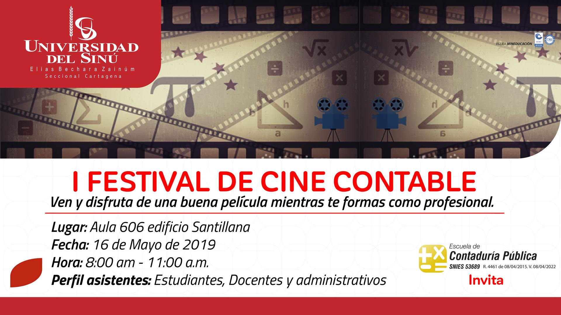 I Festival de Cine contable-2019