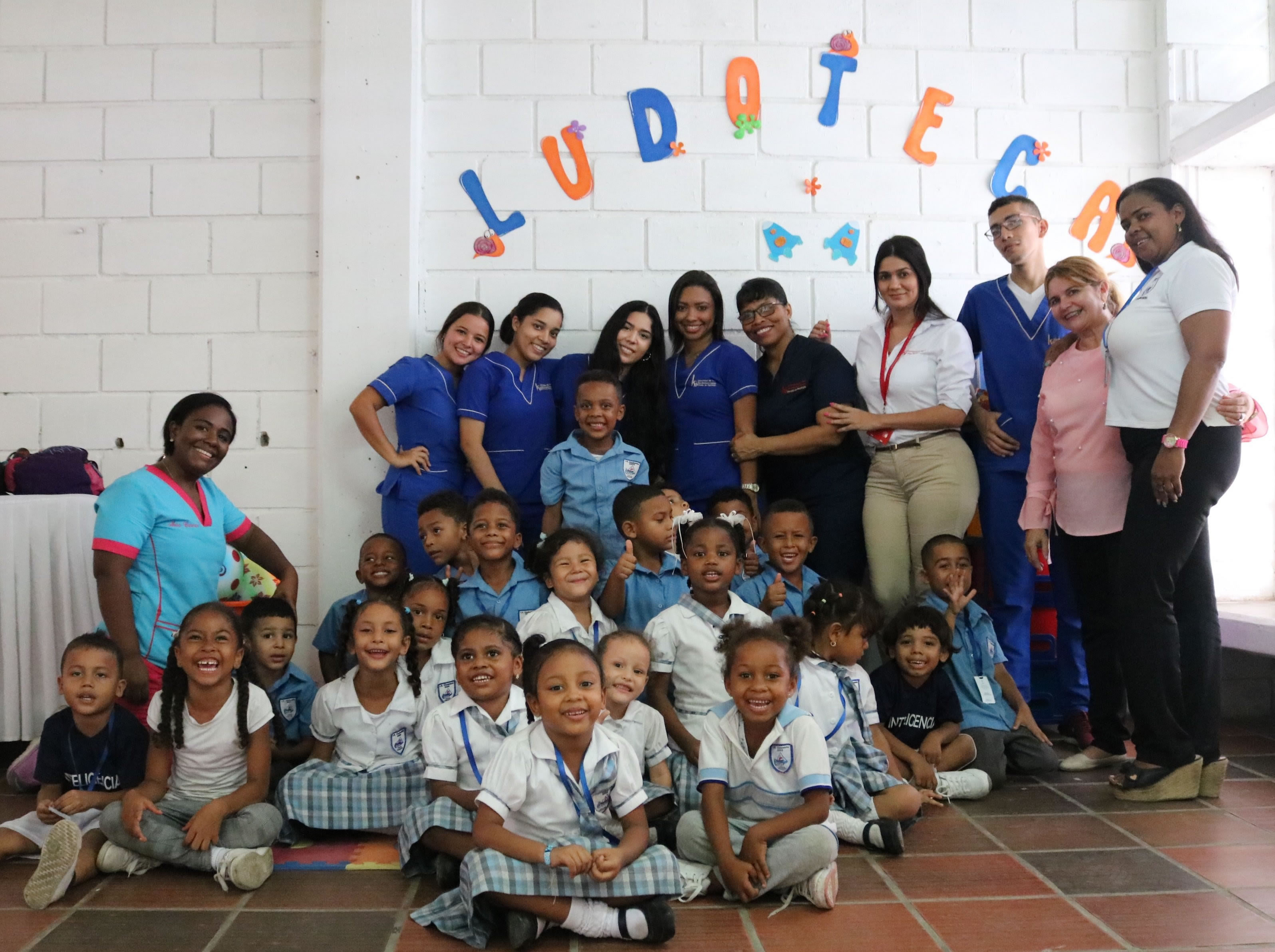 Inauguración de Ludoteca en la Institución Educativa Ciudadela 2000
