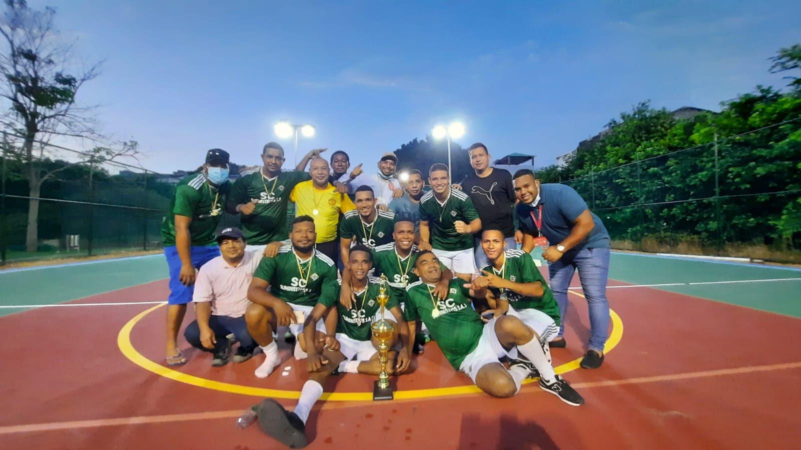 Infraestructura Campeón del Torneo Interno de Microfútbol