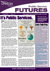 Public Service Futures Issue 12 - Spring 2015