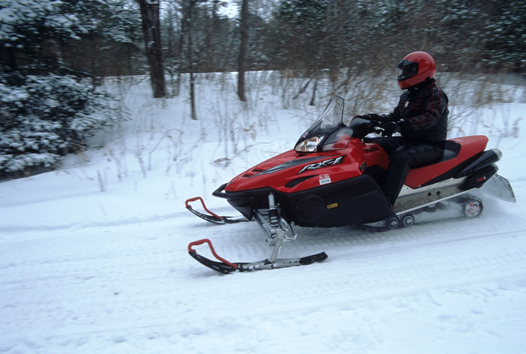 St. Germain snowmobile