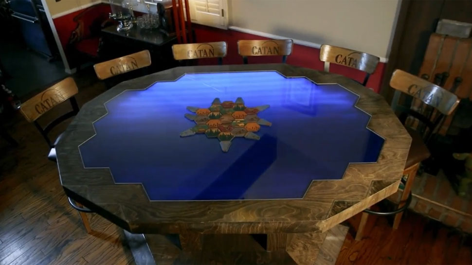 Custom Catan Table