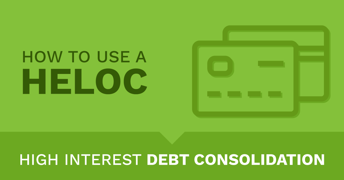 high interest debt consolidation with HELOC