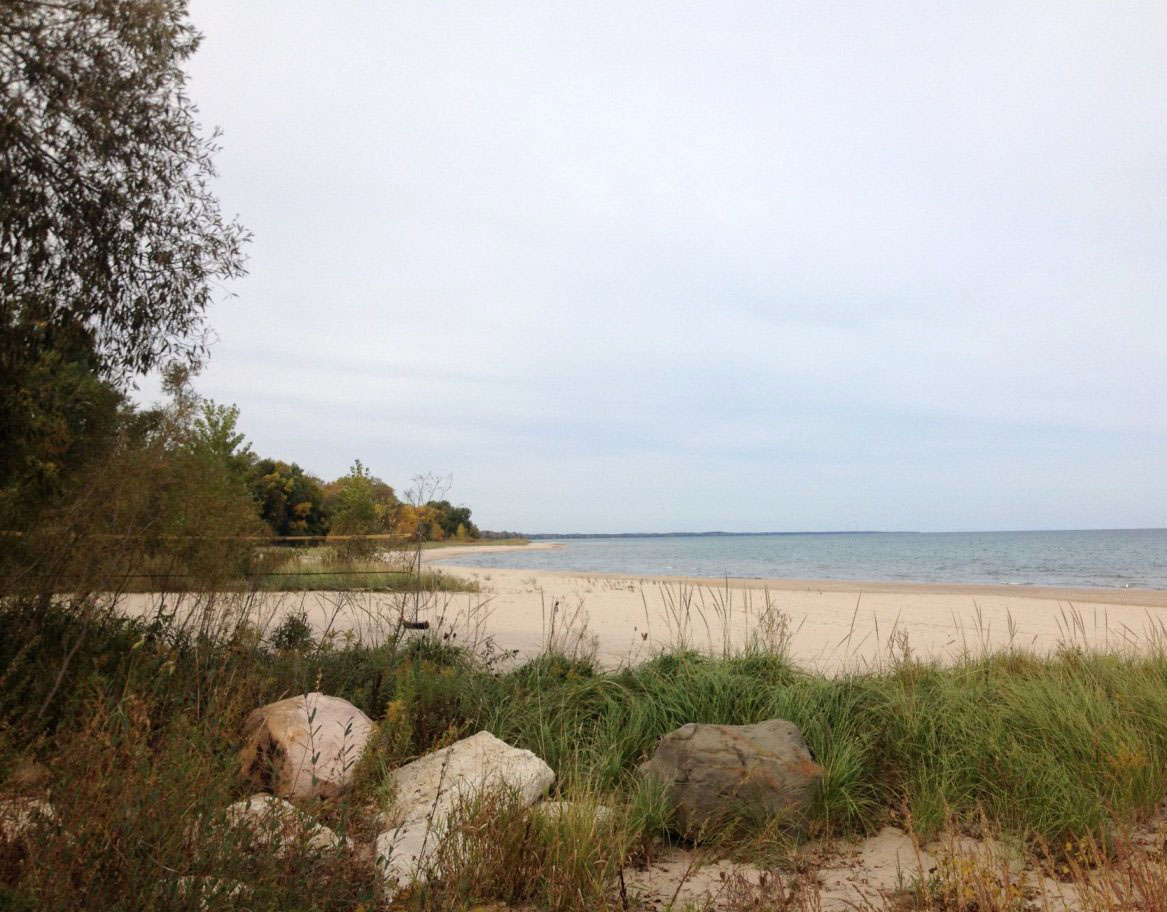 Harrington Beach State Park in wisconsin
