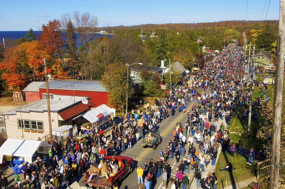 fall festival in sister bay 2018