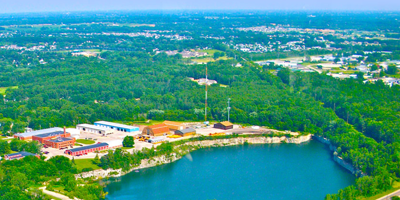 Aerial view of Howard Wisconsin