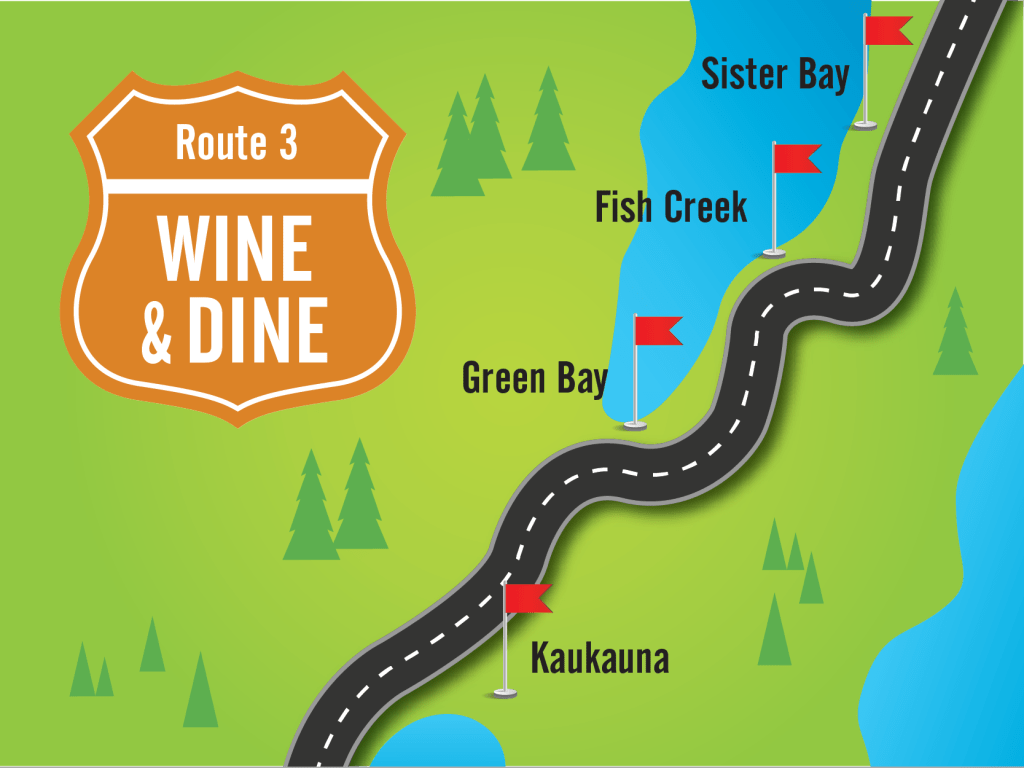 wine and dine road trip in wisconsin