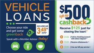 vehicle loan promo