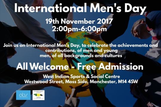International Men's Day Flyer