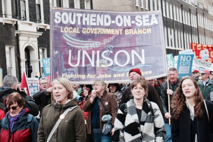 UNISON Southend-on-Sea Local Government Branch on #ourNHS National Demonstration