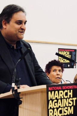 Photograph of Claude Moraes (Labour MEP for London) addressing trade unionists at the Stand Up To Racism - Trade Union Conference. (10.02.18)