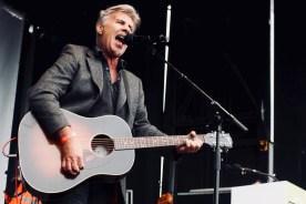 Photograph of Glen Matlock performing at TUC rally at Hyde Park, London. (12 May 2018)