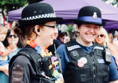 Photograph of Southend Pride Festival at Warrior Square Gardens, Southend-on-Sea.