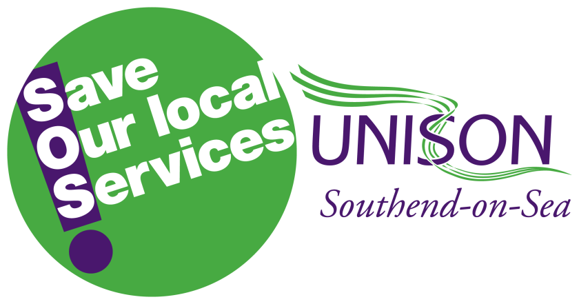 "Announcement graphic reading: ""Save Our Local Services."""