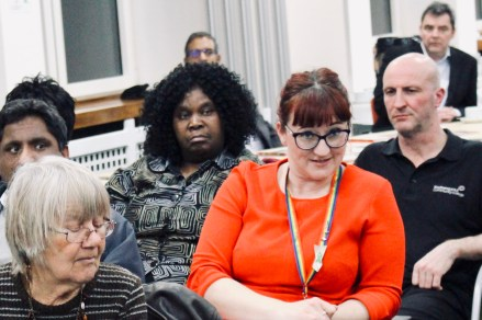 Photograph of Southend UNISON members at AGM 2019.