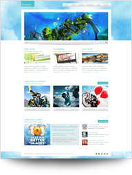 Breeze - Professional Corporate and Portfolio WP