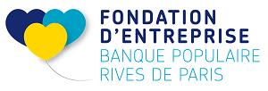 fondation d'entreprise banque populaire rives de paris logo