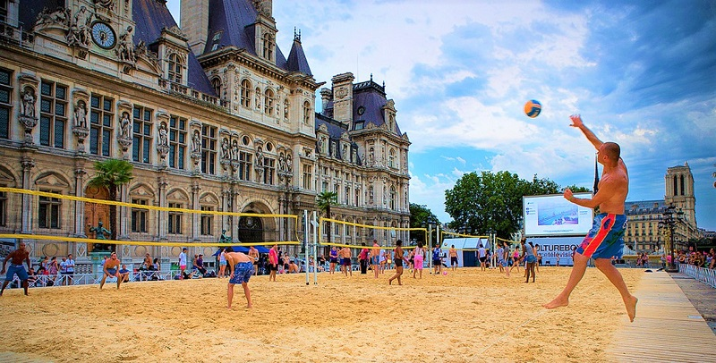 beach-volley up sport