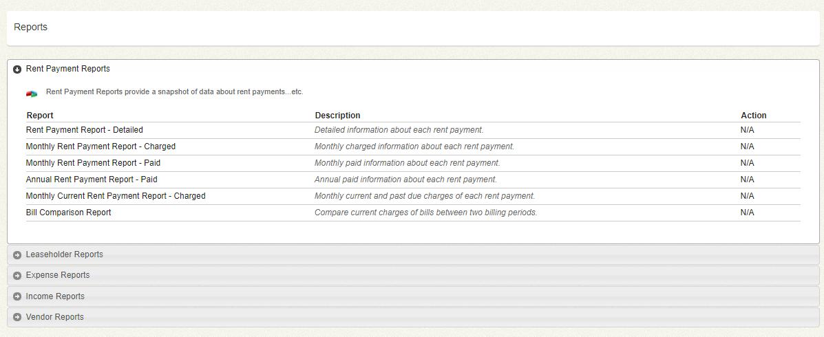UnitConnect Reports