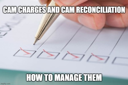 Cam Reconciliation and CAM Charges