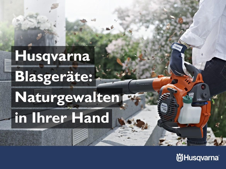 HUSQVARNA Technik für den Herbst
