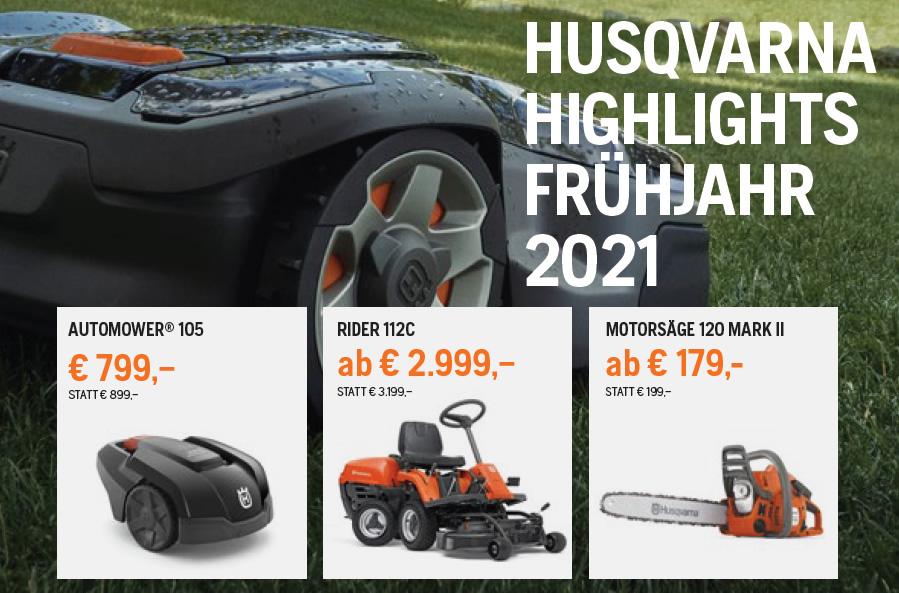 Husqvarna Frühjahrsaktion 2021
