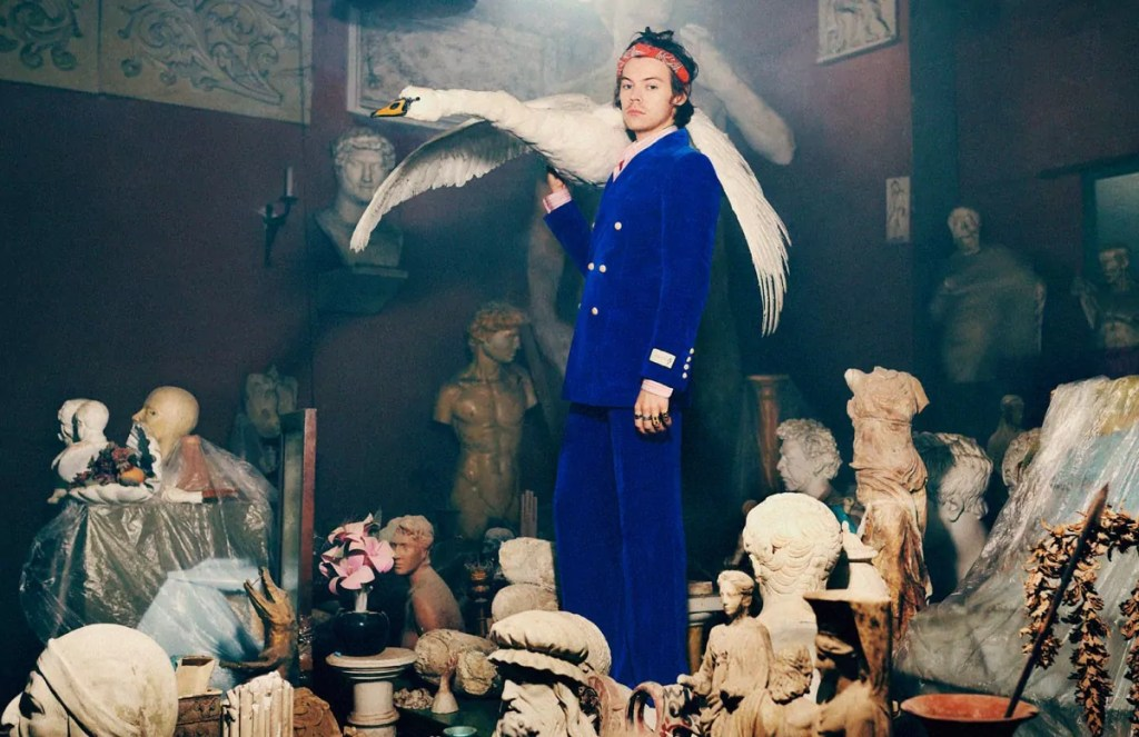 harry styles gucci pre fall 2019 5