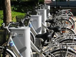 Bicicletas de préstamo. Universidad de Granada. Foto: ecomovilidad.net