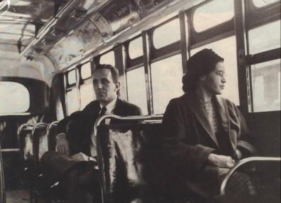 Rosa Parks.