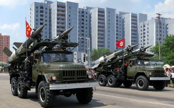 Corea del Norte demuestra su poder militar [Foto: Stefan Krasowski vía Flickr]