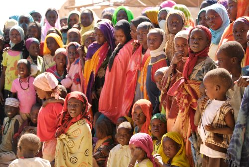 Campo de refugiados sudaneses en Chad [Foto: Reclaiming the Future vía Flickr]