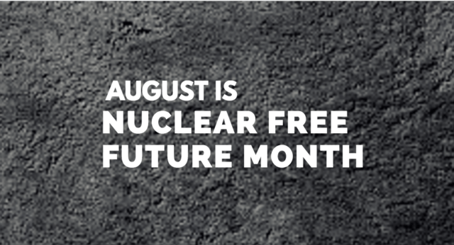 nuclear free future month ufpj