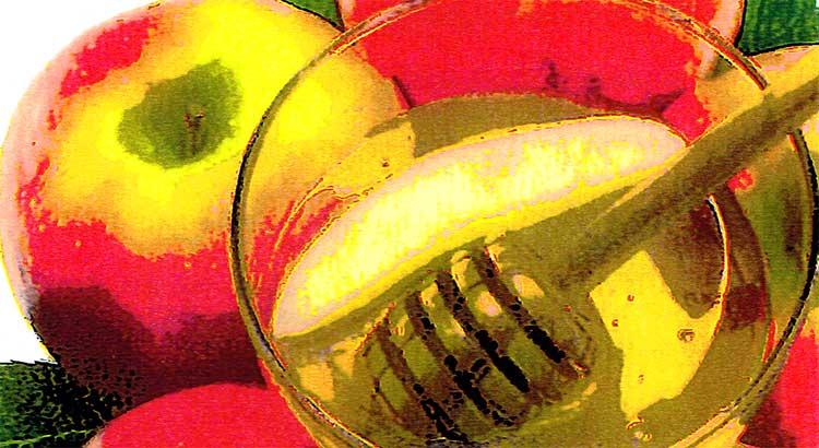 Apples and honey for Shana Tova 5799